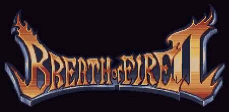 [BREATH OF FIRE 2 LOGO]