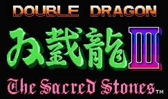 [Double Dragon III Logo]