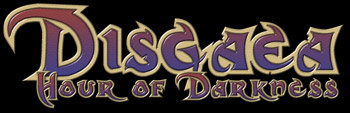 [Disgaea Hour of Darkness logo]