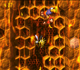 [One of the game's amazing honey-themed stages!]