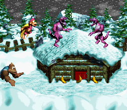 [Some of the goofy Kremlings in DKC 3]