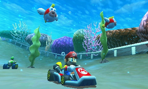 [Is it really possible to drive a go-kart underwater? Eh...who cares! :)]