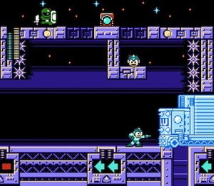 [NITRO MAN'S STAGE HAS TO BE ONE OF THE BEST LEVELS IN MEGA MAN 10...ESPECIALLY IF YOU LOVE CARS!!]