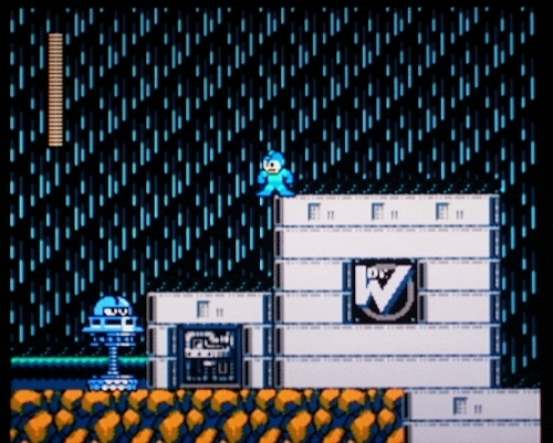 [HERE'S THE BEGINNING OF ONE INCREDIBLE WILY CASTLE!]