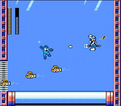 [THE FIRST FEMALE ROBOT MASTER IN THE HISTORY OF THE MEGA MAN SERIES: SPLASH WOMAN!]