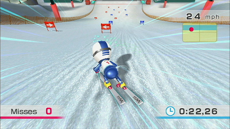 [Serious Slalom action!]
