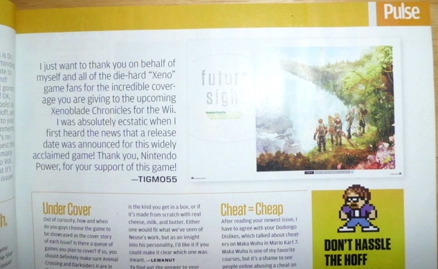 [Tigmo's in Nintendo Power Magazine!!]