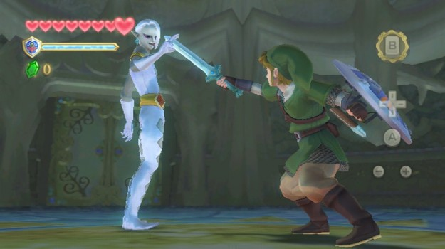[The sinister Ghirahim...]